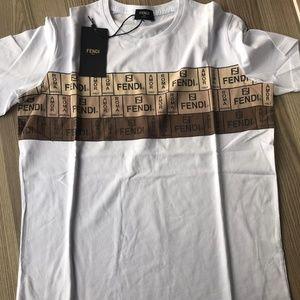 Fendi Roma Men's Casual Cotton Shirt